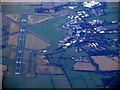 SP9543 : Cranfield Airport from the air by Thomas Nugent