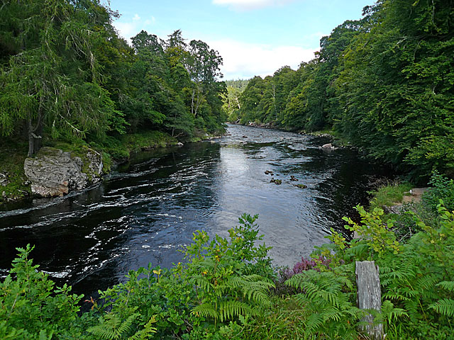 The River Findhorn