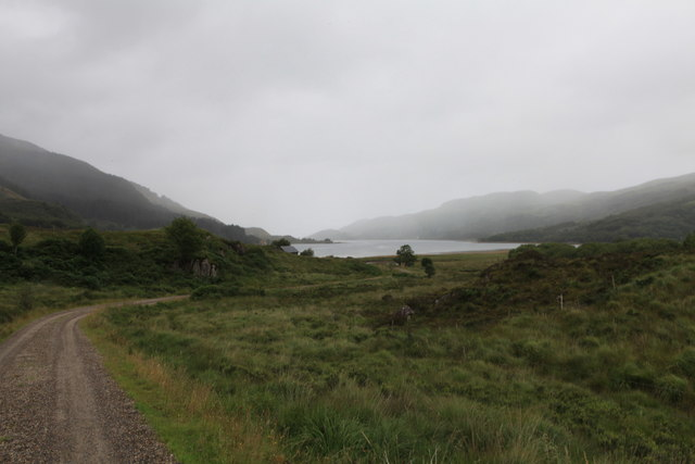 View towards Loch Teacuis