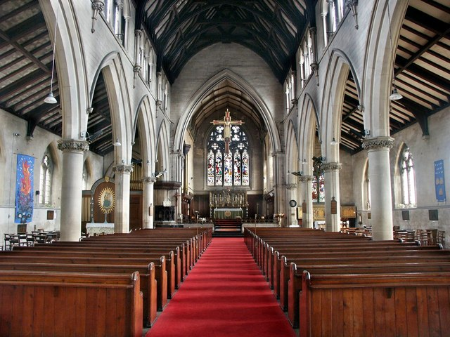 Interior Of The Church Of St Swithin 169 Dave Hitchborne