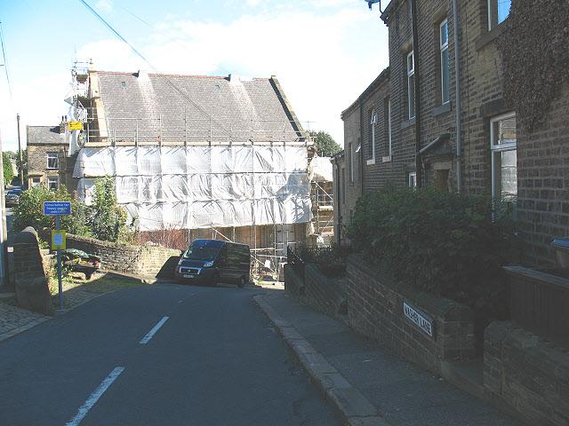Top of Washer Lane