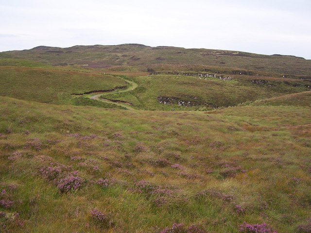 Moorland south of D&ugrave;n Suladale
