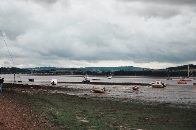 Low tide, Lympstone