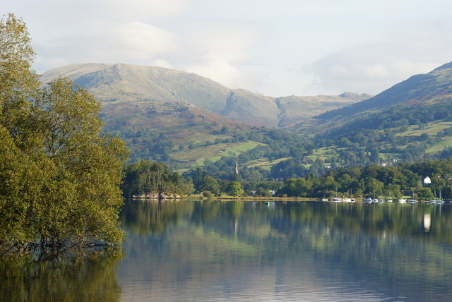 View From Low Wray, Cumbria