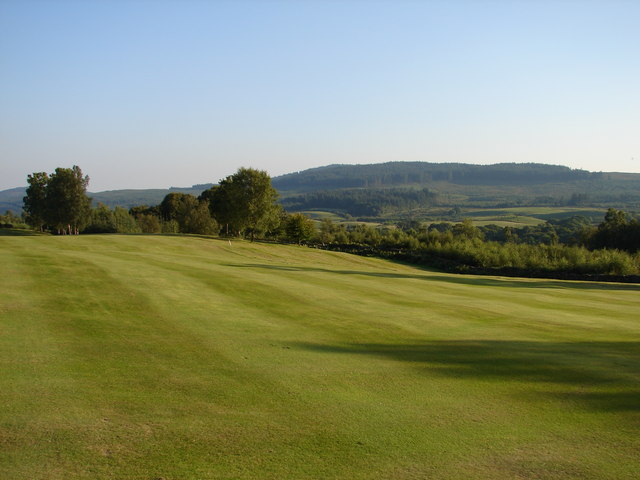 High Wood, New Galloway Golf Course