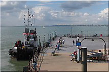 TQ8883 : End of Southend-on-Sea Pier by Oast House Archive
