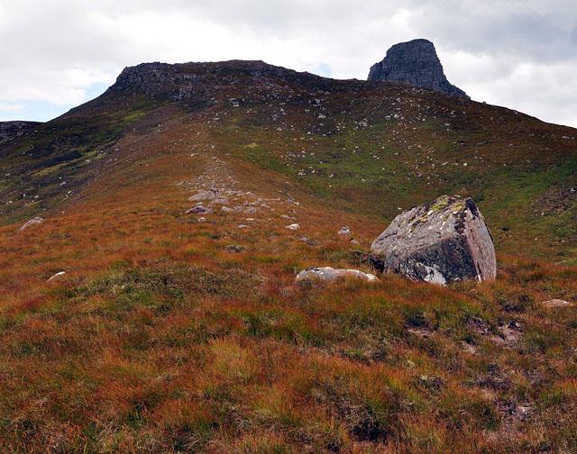 Western slope of Meall a' Chaorainn