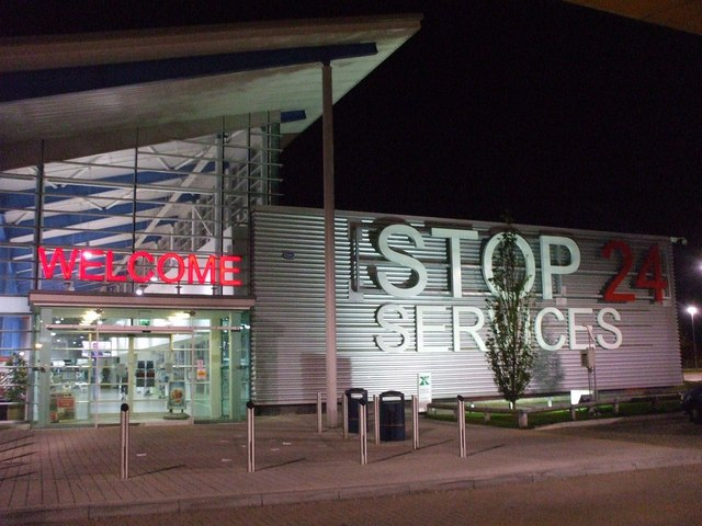 Stop 24 Services M20 Folkestone 169 Phillip Perry