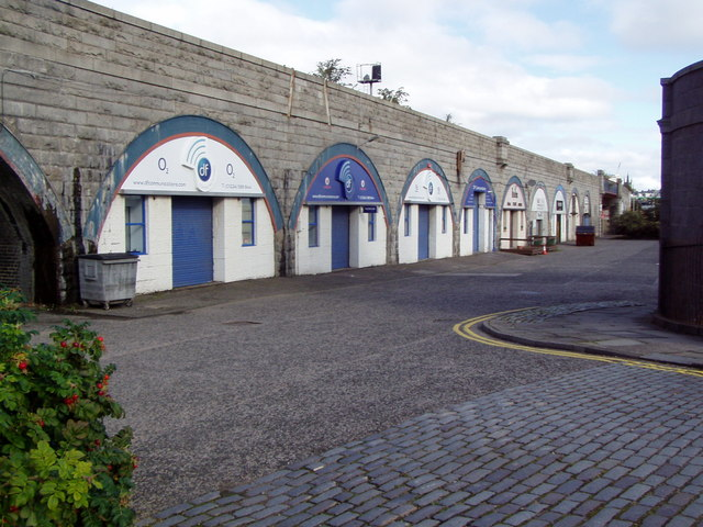 Railway arches earning rent