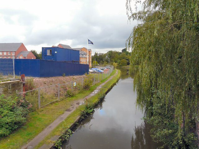 Peak Forest Canal from Manchester Road Bridge