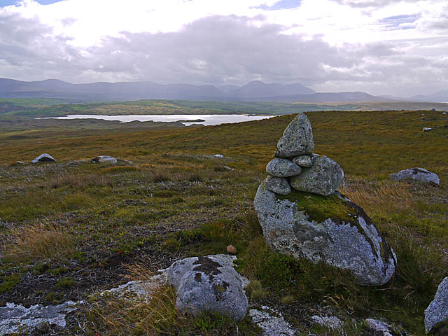 Moorland and Cairn