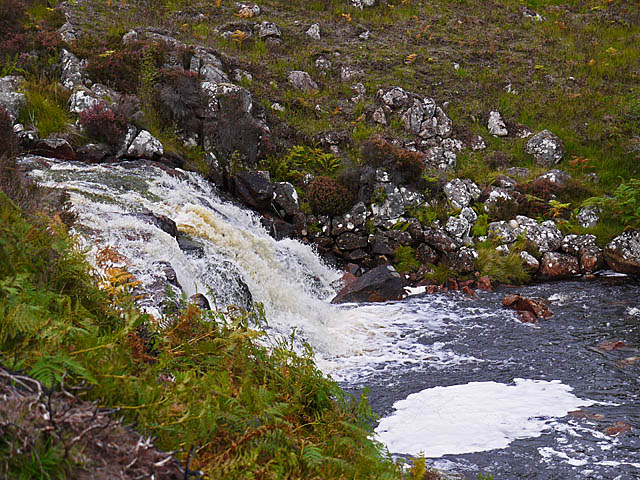 Waterfall on the Allt Chaldar