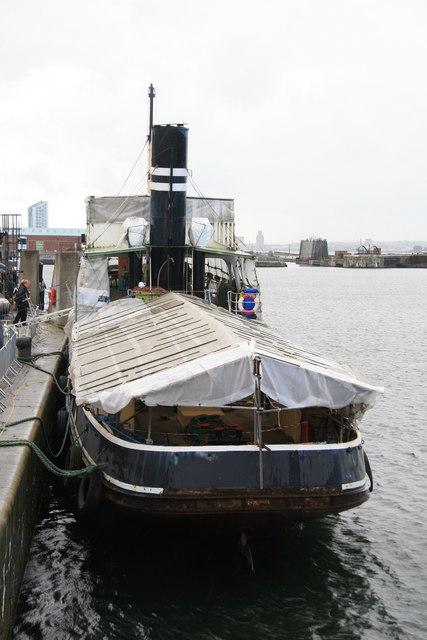 Steam tug/tender Daniel Adamson