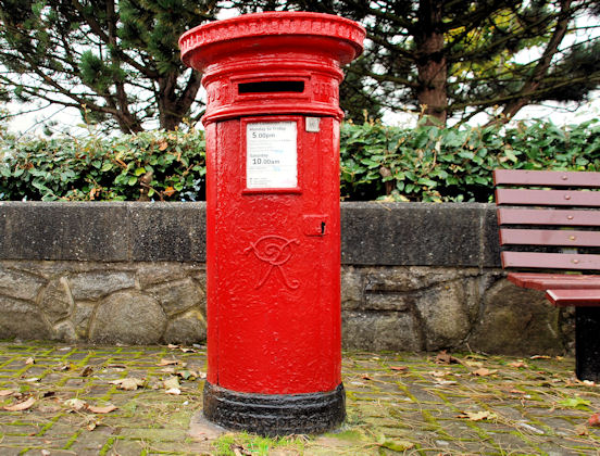 Victorian pillar box, Warrenpoint