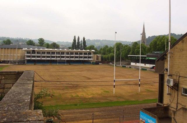 The Recreation Ground Home Of Bath Rfc Steve Daniels Cc