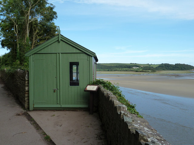 Dylan Thomas's writing shed