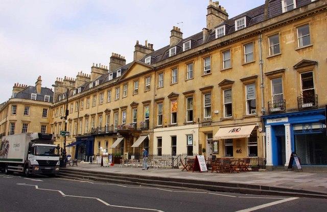 The edgar buildings on george street steve daniels for Garages in bath