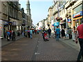 NT0987 : Dunfermline High Street by Dave Fergusson