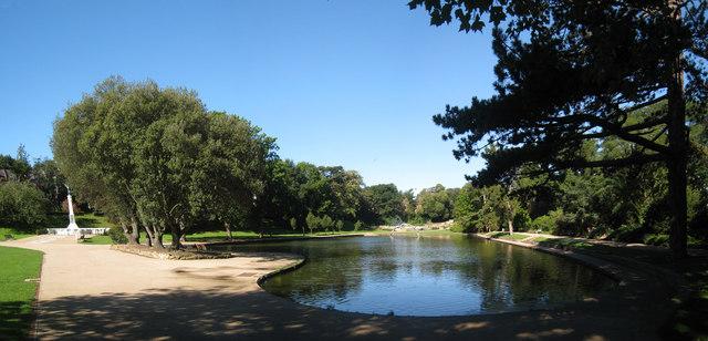 Pond At Alexandra Park 169 Oast House Archive Cc By Sa 2 0