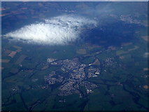NY1330 : Cockermouth from the air by Thomas Nugent