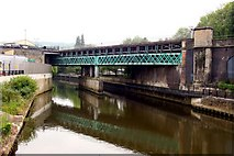 ST7564 : Railway bridge over the River Avon by Steve Daniels