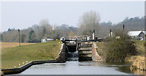 SU3268 : Hungerford Marsh Lock  by Mike Todd