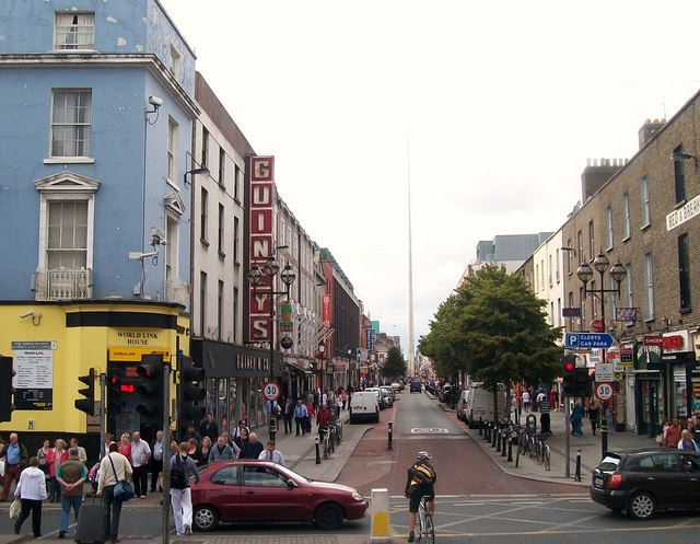 the western end of talbot street 169 eric jones geograph