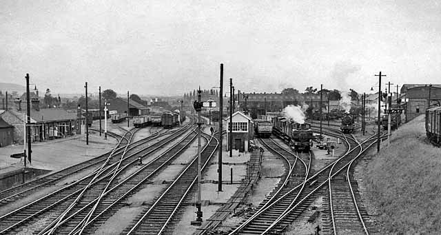 Hereford Barton Locomotive Depot And 169 Ben Brooksbank