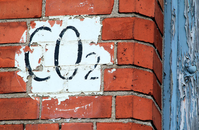 CO2 sign, Belfast