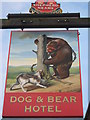 TQ8952 : Dog and Bear Hotel, Lenham by David Anstiss