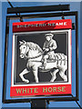 TR2139 : The White Horse sign by Oast House Archive