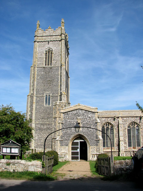 St Andrew's church in Walberswick