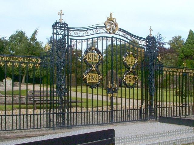 Gate of a walled garden