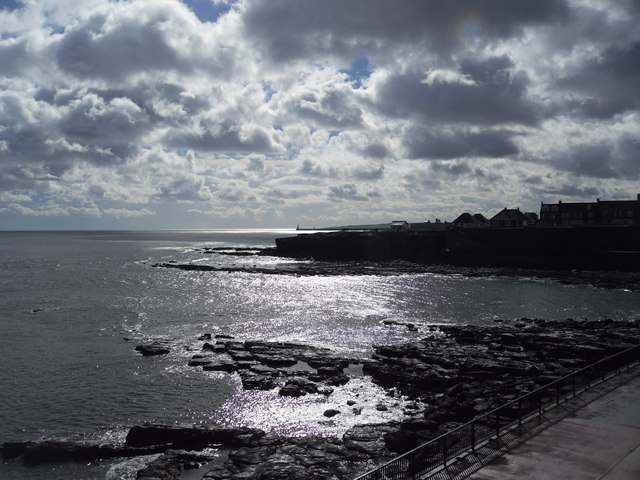 Looking Southeast to Tynemouth from Table Rocks