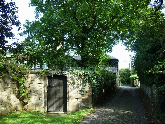 Garden entrance to Kirkthorpe Hall