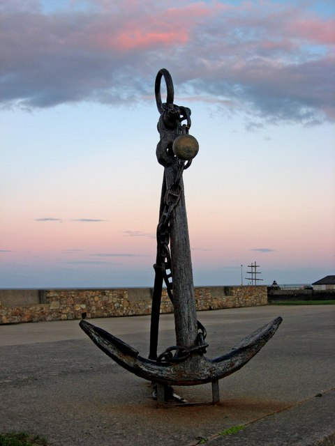 Anchor, Courtown Harbour