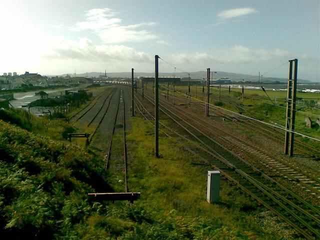 Falkland Yard, Ayr