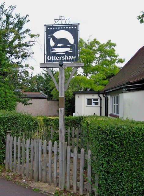 Ottershaw village sign