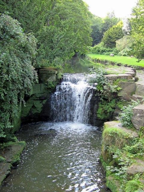 Jesmond Dene - The Waterfall (C) Anthony Foster :: Geograph Britain ...