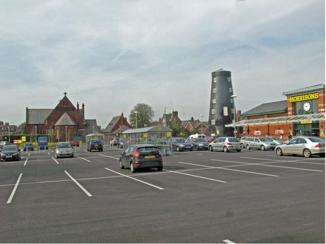 Goole Town, Windmill and Methodist Church