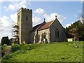 TM2252 : Burgh St Botolph�s church by Adrian S Pye