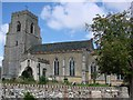 TM0057 : Buxhall St Mary�s church by Adrian S Pye