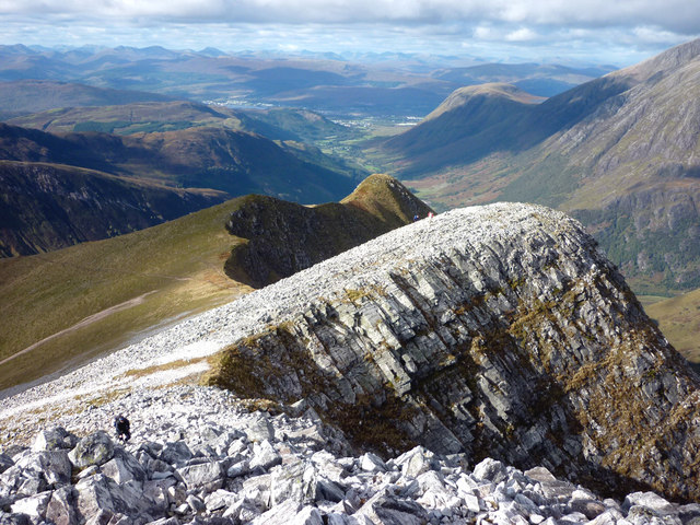 The north ridge of Stob Ban