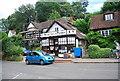 TQ0844 : Peaslake Village Stores by N Chadwick