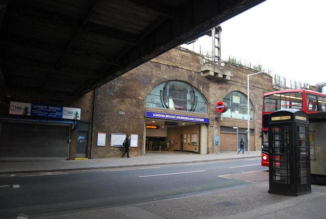 London Bridge Underground Station N Chadwick