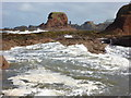 NT6779 : Coastal East Lothian : Incoming Tide at Dunbar : Week 39