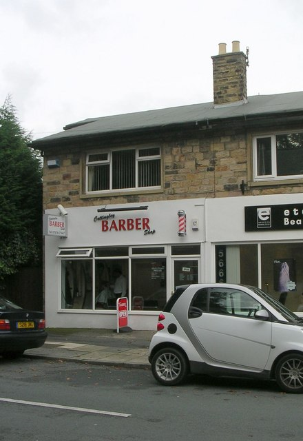 Cottingley Barber Shop - Main Street (C) Betty Longbottom :: Geograph ...