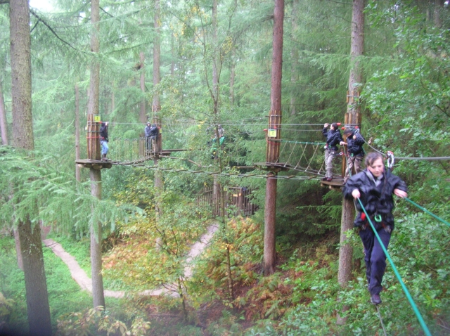 how to build a ropes course