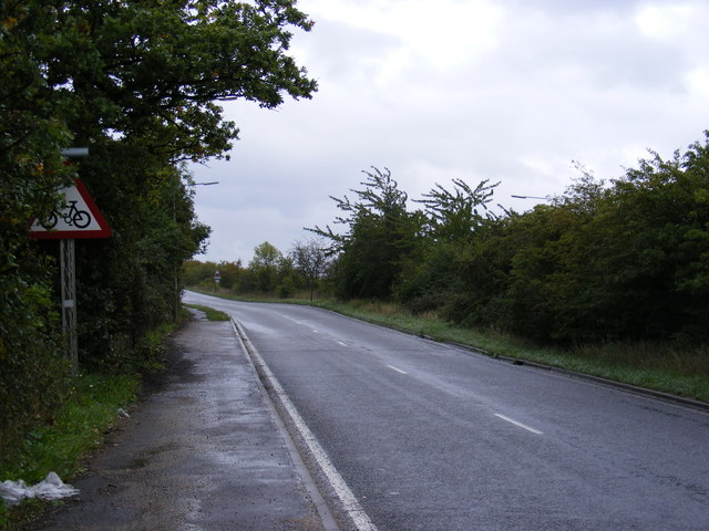 Slip Road off the A127 Southend Arterial Road