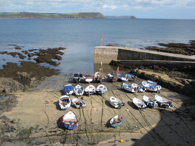 Boats in Portscatho